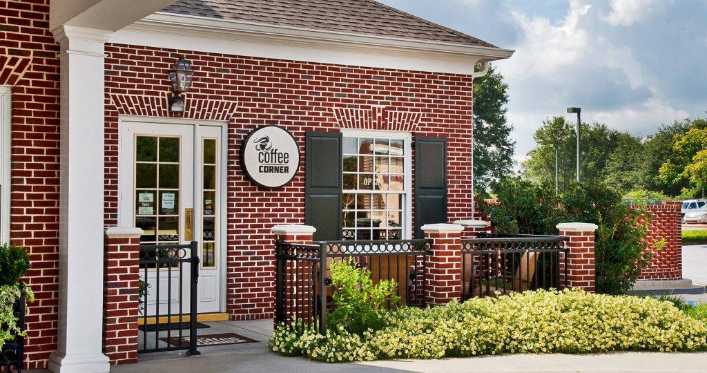 Coffee corner exterior